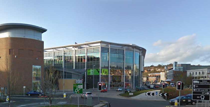 Gta projects eden shopping centre high wycombe gta civils for Eden hill walk in