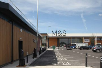 M&S car park, Chalrton Riverside